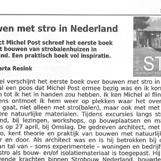 Bouwen met stro in Nederland
